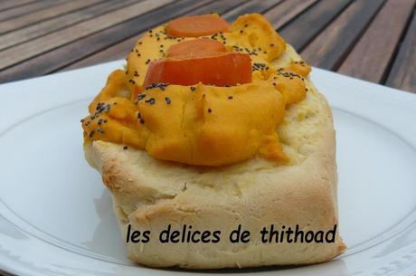 pizza aux carottes
