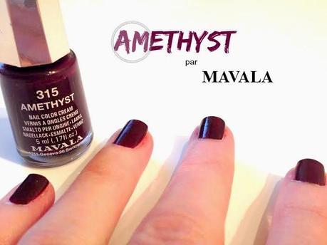 Le prune profond de Mavala : Amethyst