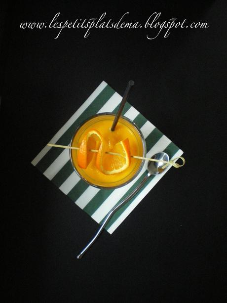Velouté de carottes à l'orange et au gingembre