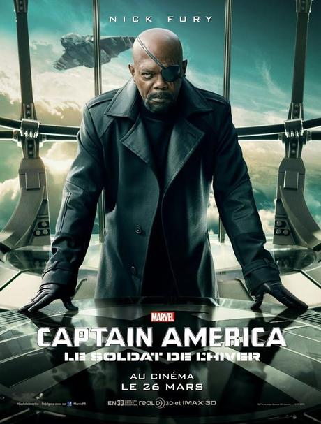 Affiche Captain America 2 - Nick Fury