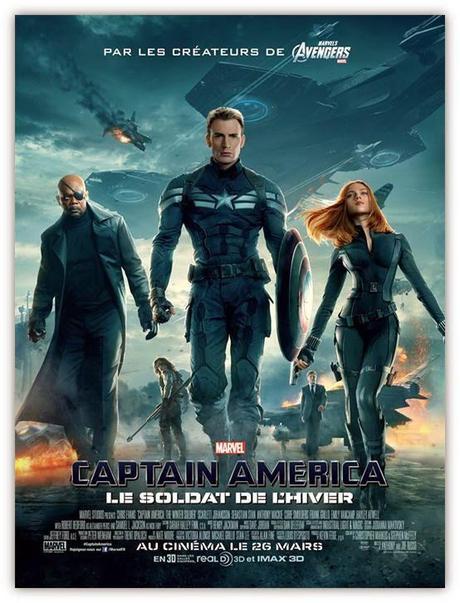 Affiche officielle FR Captain America: le Soldat de l'Hiver
