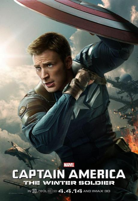 Affiche US Captain America 2 - Steeve Roger (2)