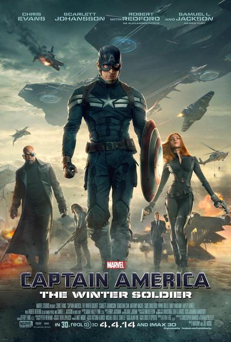 Affiche officielle US Captain America: The Winter Soldier