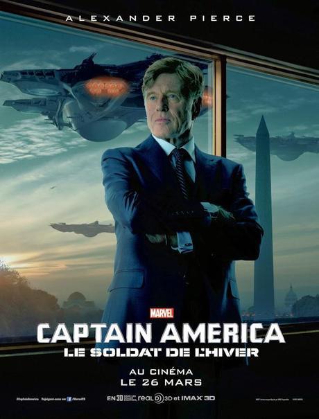 Affiche Captain America 2 - Alexander Pierce