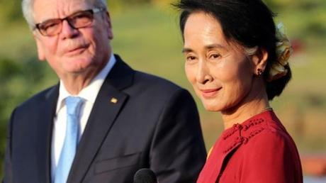 Aung San Suu Kyi en Allemagne pour renforcer, avec l'Europe, sa lutte pour la démocratie en Birmanie