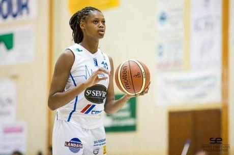 Valériane AYAYI (Basket Landes) Julien Bacot - Sport Émot