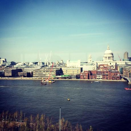 Sunny day in London, Vue depuis le Tate Modern