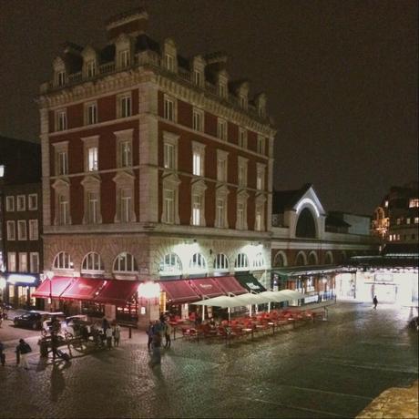Depuis les terrasses de Covent Garden