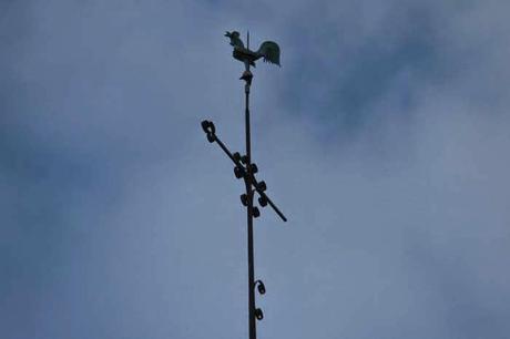 Coq et clocher : Greux (88)