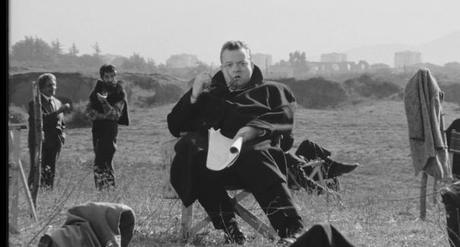 Orson Welles dans La Ricotta