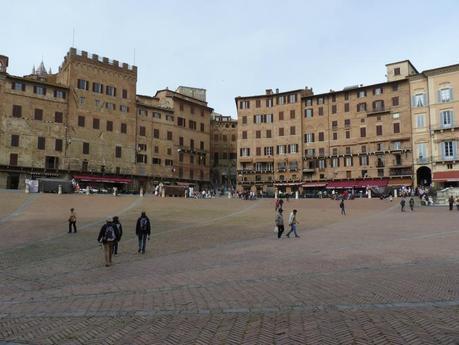 La Piazza del Campo, Sienne