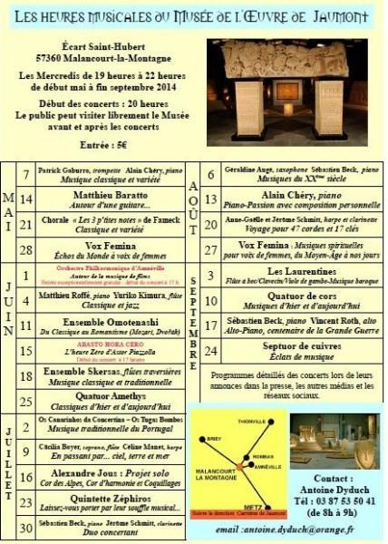 Les Musicales de l'Œuvre de Jaumont