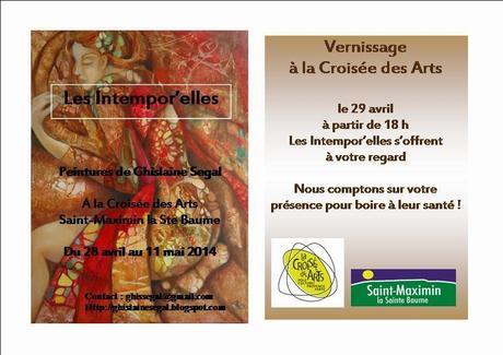 Ghislaine Segal expose à la Croisée des Arts (St Maximin)