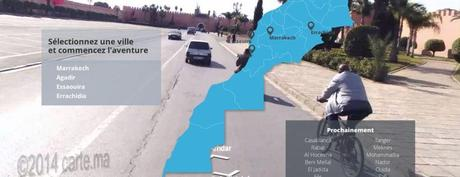 Carte.ma : Le Maroc comme jamais vu.