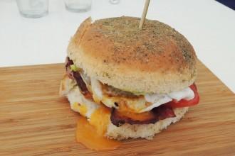 Burger sans gluten - French Press, Sydney