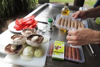 BBQ saucisses sans gluten
