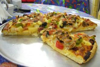 pizza sans gluten Kalbarri Cafe & Take Away