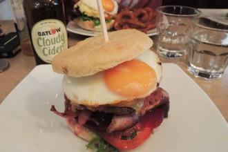Burger sans gluten - Moo à Bondi beach Sydney