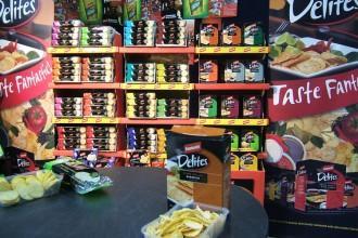 Delite Fantistic chips stand au salon du sans gluten à Perth