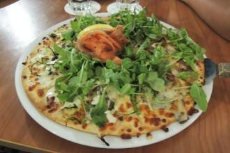 pizza sans gluten saumon / roquette - Hamilton Island