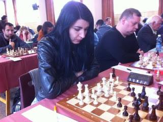 Echecs : la GMF Elena Partac © Chess & Strategy