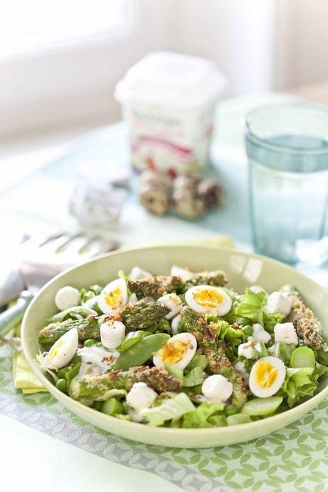 Salade de boursin aux légumes de printemps VDessusSAP11