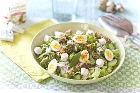 Salade de boursin aux légumes de printemps HDessusTGP11
