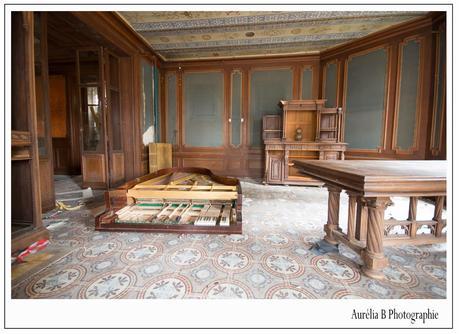 Urbex : Le manoir au Piano