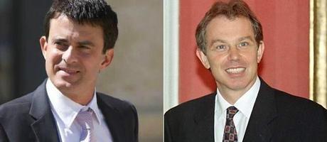 Manuel Valls : Le Tony Blair français, avec quelques différences…!