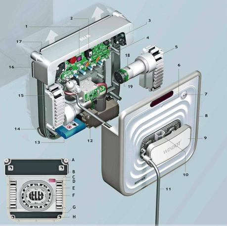 Robot laveur de vitre WINBOT 730
