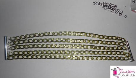 DIY Bracelets en chaînes | Kustom Couture