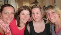 Sophie, Enora, Mélanie et Fanny ont ouvert
