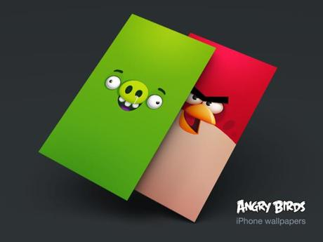 Angry Birds Wallpapers pour iPhone