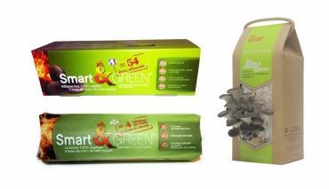Insolite : du marc de café recyclé pour récolter des champignons et faire du feu