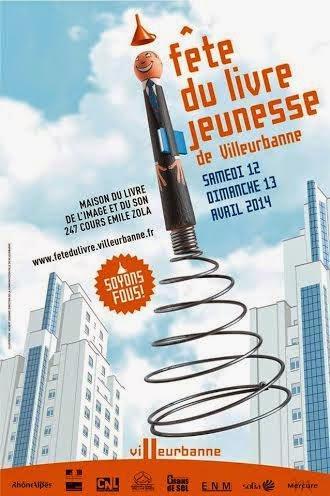 Du 9 au 13 Avril 2014, rendez-vous au pays des merveilles grâce à la Fête du livre jeunesse de Villeurbanne !