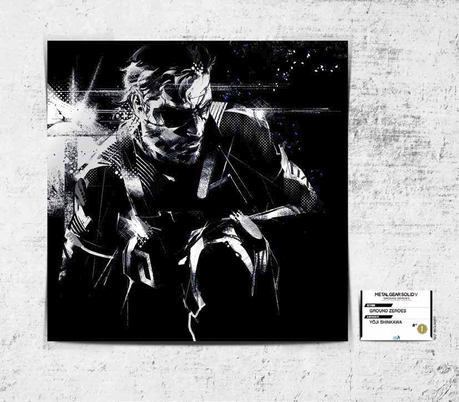 Metal Gear Solid Artworks Collection chez Aoji