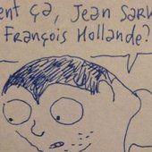 La réponse géniale de Joann Sfar aux caricatures de Jean Sarkozy