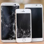 iPhone-5S-vs-HTC-One-M8-vs-Galaxy-S5-drop-test