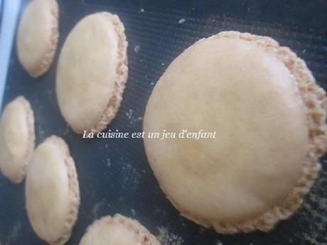 Macaron à la meringue française