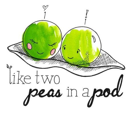 Like two peas in a pod
