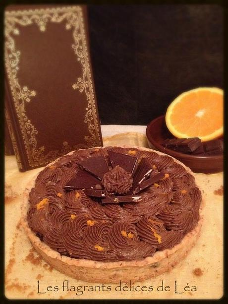 tarte choco orange