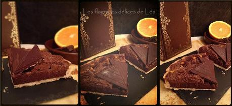 montage tarte choco orange