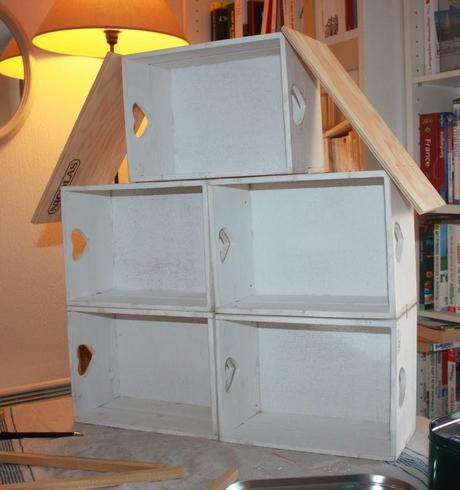 Diy une maison en bois pour les sylvanians facile paperblog - Echantillon de peinture pour la maison ...