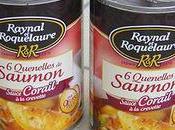 Raynal roquelaure garniture pour bouchees reine quenelles saumon corail crevette
