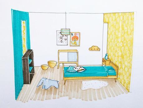 La d co pour une chambre de petit gar on voir - Decoration chambre petit garcon ...