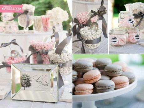 Conseil pour un mariage rose poudr et gris paperblog - Deco mariage rose poudre ...