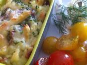 Pommes terre asperges gratinés l'italienne
