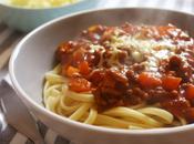Spaghetti sauce bolognaise rouge