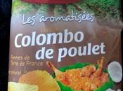 Tortilla chips colombo poulet