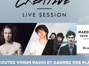 Gagne places pour deuxième Creative Live Session avec Julien Doré, Gael Faure, Peter Archimède
